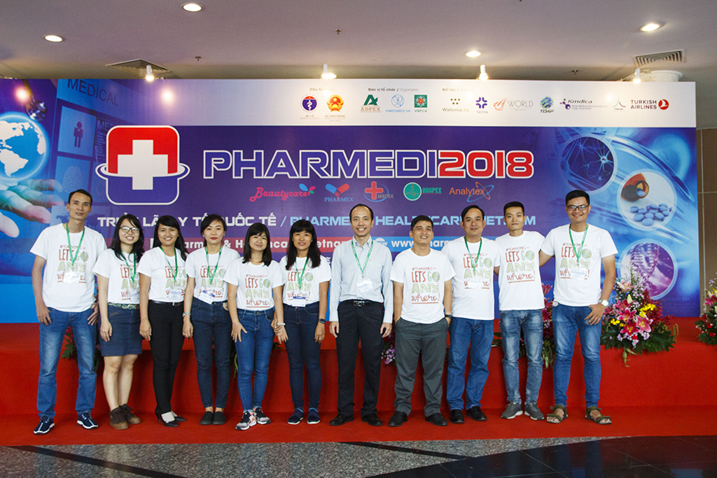 Triễn lãm y tế 2018 – Phardmed Healthcare VN